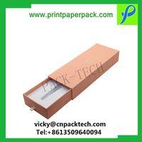 Custom Modern Jewelry Earring, Necklace, Bracelet, Watch Cardboard Paper Gift Box Wig Paper Packagin