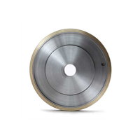 Metal bond diamond pencil grinding wheels for glass