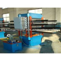 rubber tiles vulcanizing machine