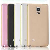 For Samsung Note 4! Metal Aluminum +Slim Back Case For Samsung Galaxy Note 4 N9100 Luxury Hybrid Har