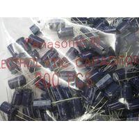 Cap. Aluminium Electrolytic, 470uF, +/-20%, 35V, PTH, Diam: 10mm, Passo: 5mm, Height: 16mm ECA-1VM47 thumbnail image