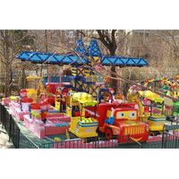 Yehua Amusement Equipment Land Park Children Park Amusement Fantasy Construction Site