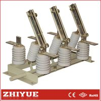 GN19-12c 3p 12kv 1250A Indoor AC High Voltage hv isolating disconnect switch thumbnail image