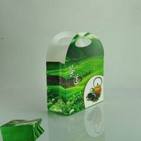 Eco-friendly stone paper tea gift bag