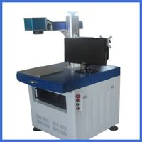 10W steel/bearing fiber laser marking machine