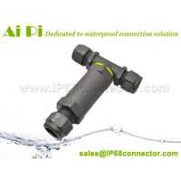 IP68 Waterproof 3-Pole T-Splitter Connector thumbnail image