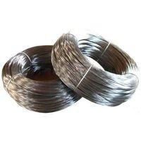 Zn-5%Al-mischmetal alloy-coated steel wire  (galfan wire)