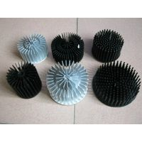 Aluminum heat sink, extrusion or cold foring