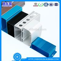 aluminium electrical supplies profile, aluminum electronic Enclosures