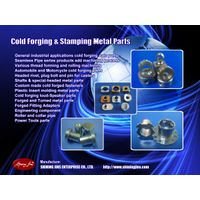 Customized cold forged and turned precision parts
