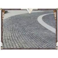 G654 granite stone Cobble stone 10x10x5cm for driveway paving