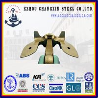 The worldsale sea anchor supplier U.S. stockless navy ship anchor for sales