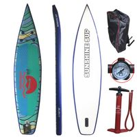 "Wholesale 10' x 30""x6"" Inflatable Stand UP Paddle Board Racing Board"