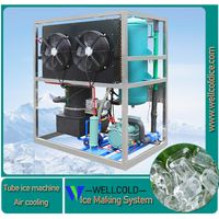 best selling ice maker in China 3000kg per day air cooling tube ice maker machine