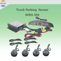Truck Parking Sensor for LED Display and Buzzer Alarm