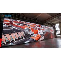 HD indoor advertising P3 big led video screen