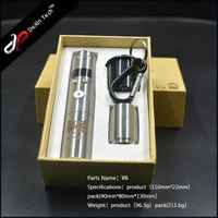 2014 new and hot selling with low price wholesale huge capor ecig huge vapor stainless steel vamo v6