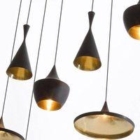 Modern Chandelier Tom Dixon Beat Pendant Lamp Designer Hanging Lighting Aluminium Pendant Light E27 thumbnail image