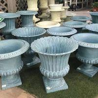 Aluminum Die Casting Aluminum Casting Flower Pot China Aluminum Decoration Base manufacturer