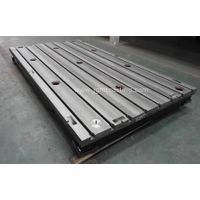 Cast Iron T Slotted Bed Plate