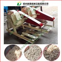 wood sawdust mill/ wood log crusher/ wood chipper machine