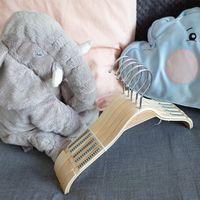 Wooden Kids Hanger Children Coat Hanger