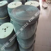 SUS304 / 304L / 316 / 316L Stainless Steel Knitted Wire Mesh for Liquid Filtration