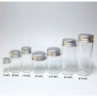 Wide mouth PET Bottles 2ml-8ml-10ml-15ml-20ml-30ml-40ml