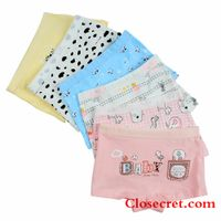 Closecret Kids Series Baby Underwear Little Girls' Cotton Boyshorts Panties (Pack of 6) thumbnail image