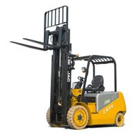 3ton Electric Forklift Truck/ with High Capacity of AC Battery