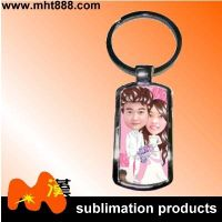 Customized sublimation metal keychain A88
