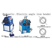 Hydraulic/Electric angle iron bender