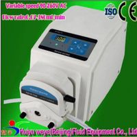 BT100J variable speed laboratory peristaltic dosing pump