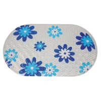 Oval Variety design film with dot Bathroom mat bath Safety PVC door mat shower mat with ten colors O