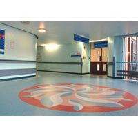 Durable PVC shopping mall flooring