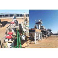 Frac sand washing plant