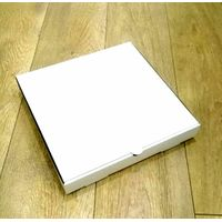 Plain White Pizza box