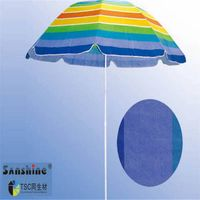 nice 200cm sturdy beach umbrella