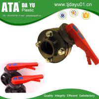 "UPVC butterfly valve Handle type  size from 2"" to 8"""