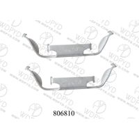 WELLDE DISC BRAKE PAD CLIP 806810 FRO BMW
