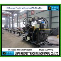 CNC Angle Line Machine for Shearing Punching and Cutting thumbnail image