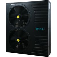 12kw DC inverter swimming pool heat pump for -15'c COP 5.8