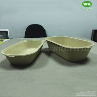 1000ml Bleached/Unbleached Wheat Straw Lunch Box