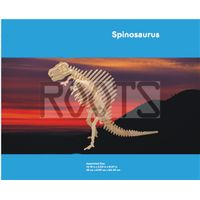 Spinosaurus-3D wooden puzzles, wooden construction kit,3d wooden models, 3d puzzle