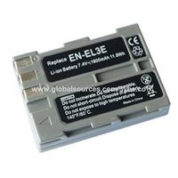 Li-ion Battery 7.4v 1600mAh Camera Battery for Nikon EN-EL3e Replace for Nikon D90/D300s/