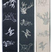 [GEVAERT] Suspenders 35mm Y-shaped animal embroidery thumbnail image