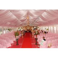 span 10m outdoor luxury wedding tent  with transparent wall thumbnail image