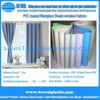 Colorful PVC Coated Fiberglass Cloth Curtain Fabric thumbnail image