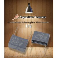 JFV -- X2 Metallized Polypropylene Film Capacitor (275VAC)