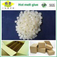 Box packing usage hot melt adhesive